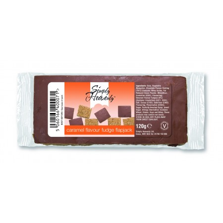 Simply Heavenly Flapjack Caramel Coated 15 x 120g
