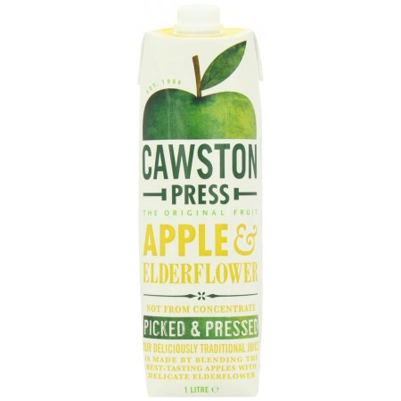 Cawston Press Apple & Elderflower 6 x 1 Litre