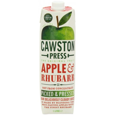 Cawston Press Apple & Rhubarb 6 x 1 Litre