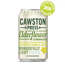 Cawston Press Elderflower Lemonade Cans 24 x 330ml
