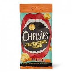 Cheesies Crunchy Popped Cheese - Cheddar 12 x 20g