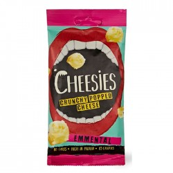 Cheesies Crunchy Popped Cheese - Emmental 12 x 20g