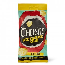 Cheesies Crunchy Popped Cheese - Gouda 12 x 20g