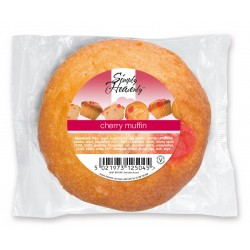 Simply Heavenly Muffin Cherry 24 x 120g