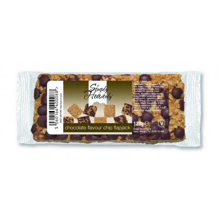 Simply Heavenly Flapjack Chocolate Chip 15 x 120g