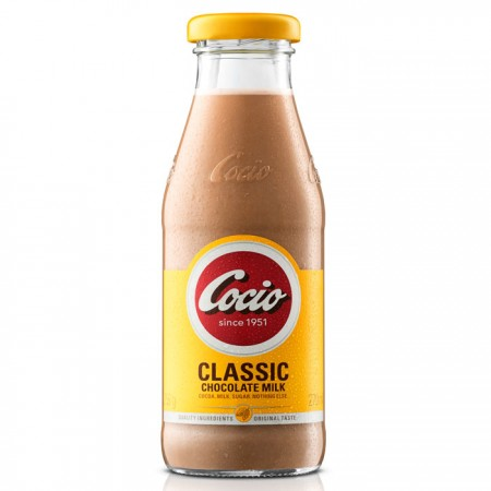 Cocio Classic Chocolate Milk Glass Bottle - 8 x 270ml