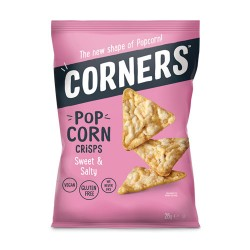 Corners Pop Corn Sweet & Salty  (18 x 28g)
