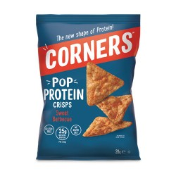 Corners Pop Protein - Sweet Barbeque (18 x 28g)