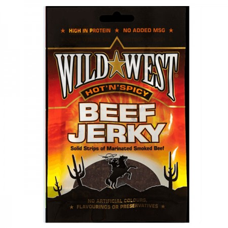 "Wild West Hot ""N"" Spicy Jerky 12 x 25g"