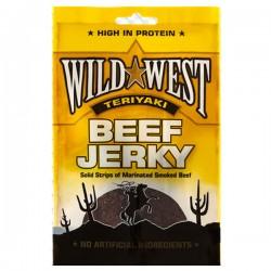 Wild West Teriyaki Beef Jerky 12 x 25g