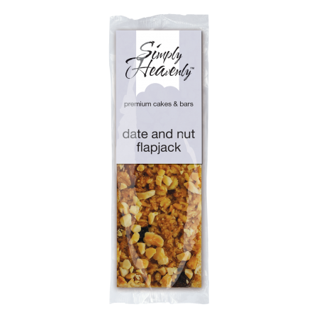 Simply Heavenly Date & Nut Flapjack Bar x 20