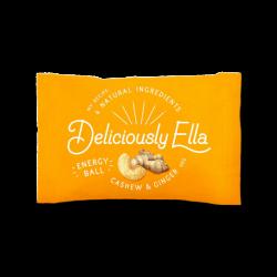 Deliciously Ella - Cashew & Ginger 12 x 40g