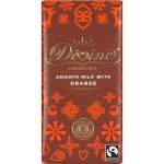 Divine Chocolate - Milk Chocolate Orange Bar 30 x 35g
