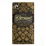 Divine Chocolate - 70% Dark Chocolate - 15 x 90g