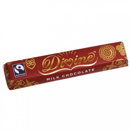 Divine Chocolate - Milk Chocolate 30 x 40g