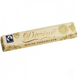 Divine Chocolate - White Chocolate Bars 30 x 40g