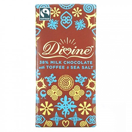 Divine Chocolate - 70% Dark Chocolate 15 x 100g
