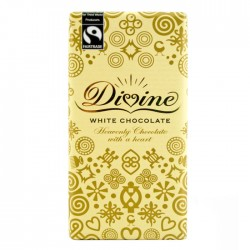 Divine Chocolate - White Chocolate 15 x 100g