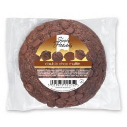 Simply Heavenly Muffin Double Chocolate 24 x 120g