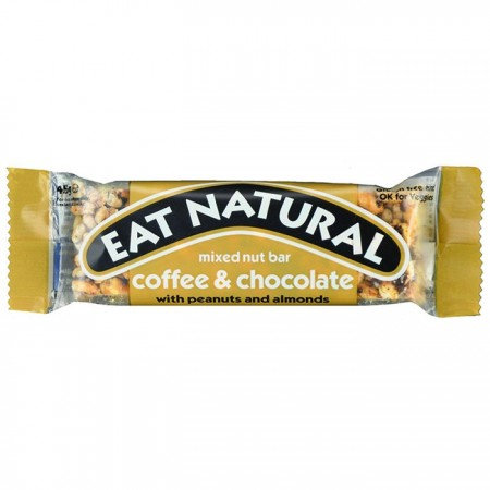 Eat Natural Coffee & Chocolate 12 x 45g