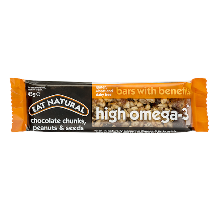 Eat Natural Bars With Benefits High In Omega 3 12 X 45g