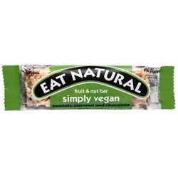 Eat Natural - Simply Vegan Fruit & Nut Bar 12 x 45g