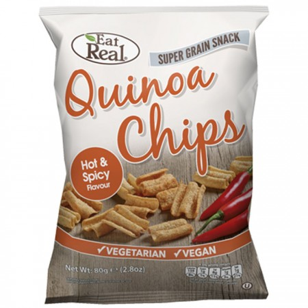 Eat Real Quinoa Hot & Spicy 12 x 30g