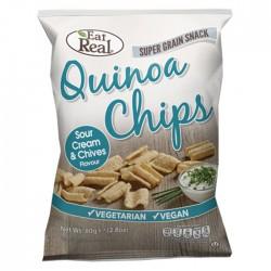 Eat Real Quinoa Sour Cream & Chive 12 x 30g