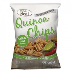 Eat Real Quinoa Chilli and Lime Chips 12 x 30g