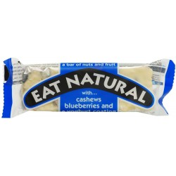 Eat Natural Blueberries, Cashews & Yoghurt Coating 12 x 45g