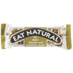 Eat Natural - Date, Walnut & Pumpkin Seed 12 x 45g