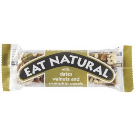 Eat Natural Date, Walnut & Pumpkin Seed 12 x 45g
