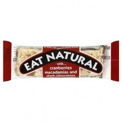 Eat Natural Cranberries, Macadamias & Dark Chocolate 12 x 45g