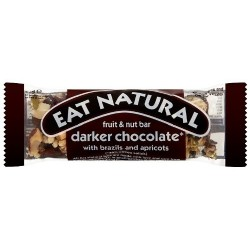 Eat Natural Darker Chocolate, Brazils & Apricots 12 x 45g