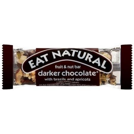 Eat Natural Darker Chocolate, Brazils & Apricots 12 x 45g