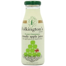 Folkington's Pure Pressed Cloudy Apple Juice 12 x 250ml
