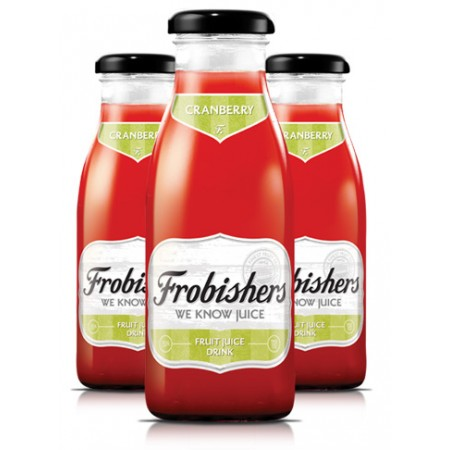 Frobishers Cranberry Juice 12 x 250ml