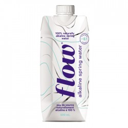 Flow - Naturally Alkaline Spring Water 12 x 500ml