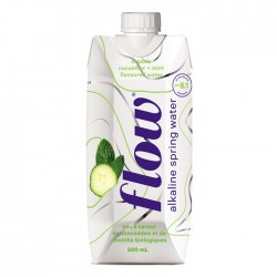 Flow - Cucumber & Mint  12 x 500ml