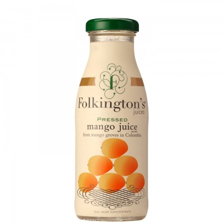 Folkington's Pressed Mango Juice 12 x 250ml