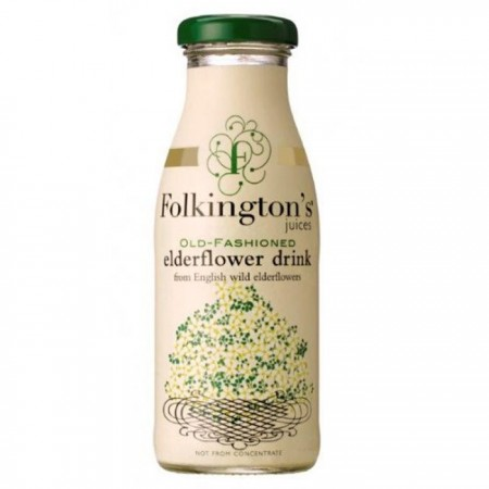 Folkington's Elderflower Juice 12 x 250ml