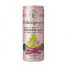 Folkingtons - Rhubarb & Apple Pressé - 12 x 250ml