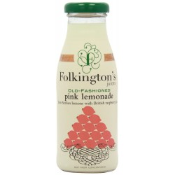 Folkington's Old Fashioned Pink Lemonade Juice 12 x 250ml