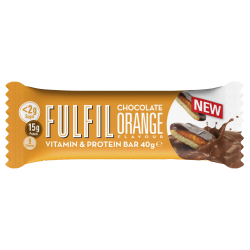 Fulfil Vitamins & Protein Bar Chocolate Orange - 15 x 40g