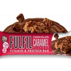 Fulfil Vitamins & Protein Bar, Chocolate Caramel - 15 x 55g