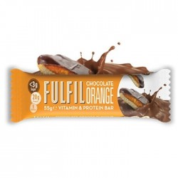 Fulfil Vitamins & Protein Bar, Chocolate Orange - 15 x 60g