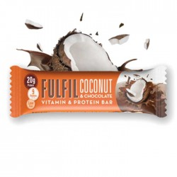 Fulfil Vitamins & Protein Bar, Coconut & Chocolate - 15 x 55g