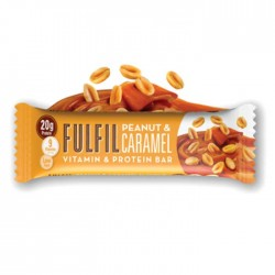 Fulfil Vitamins & Protein Bar, Peanut & Caramel - 15 x 55g