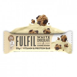 Fulfil Vitamins & Protein Bar, White Chocolate & Cookie Dough - 15 x 55g