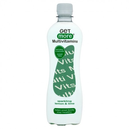 Get More Multivitamins Lemon & Lime - 12 x 500ml